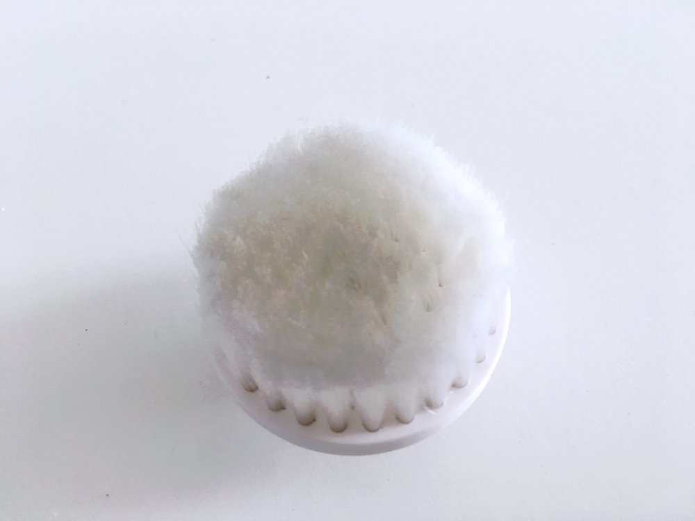 Cleansing Brush - It's perfect for everyday use and is really gentle and soft on the skin.