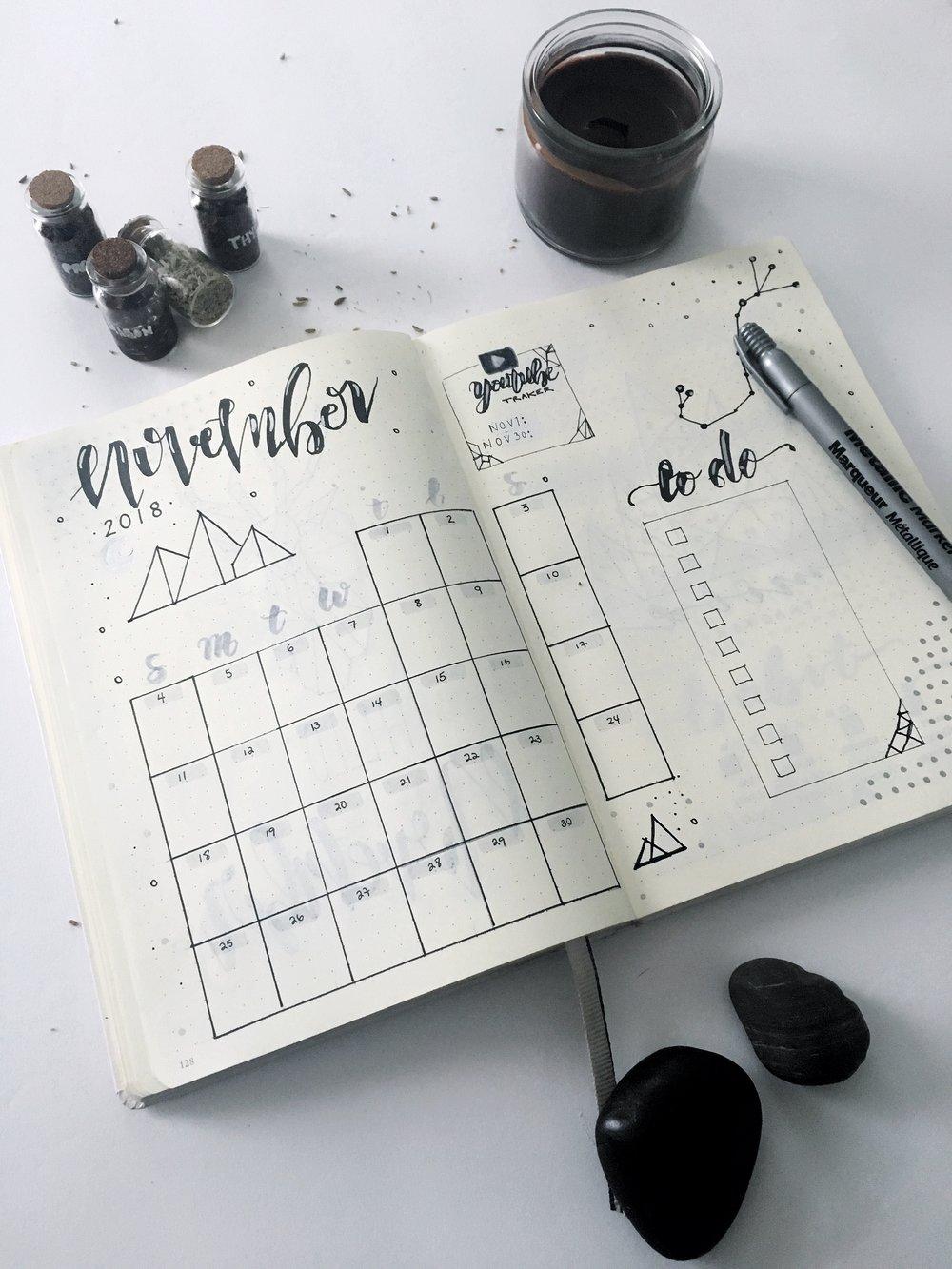 nov bojo 2018 calendar