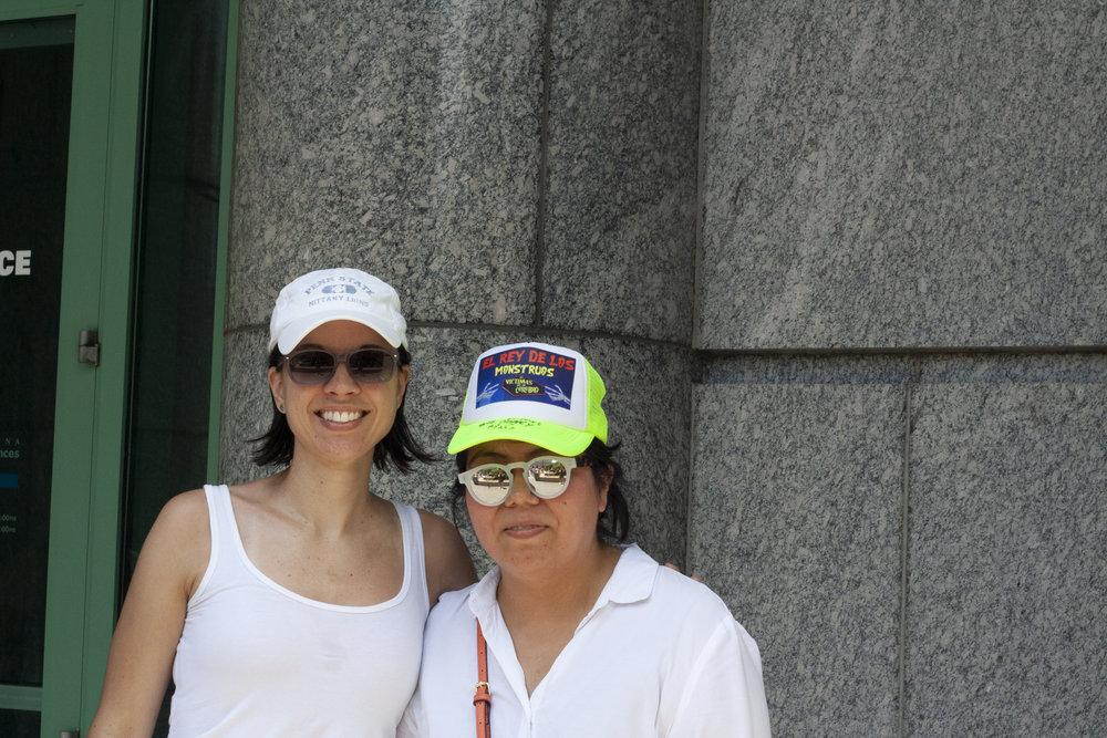 Nancy and Shauna
