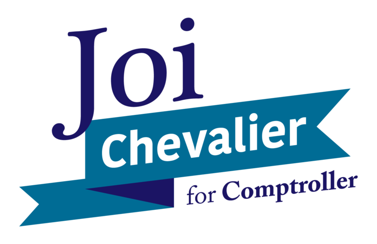 Joi Chevalier for Comptroller