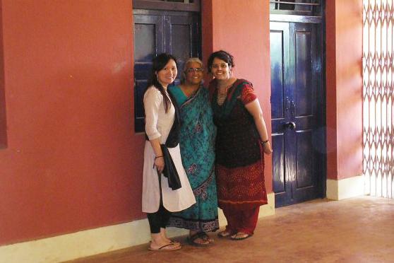 Nancy, Dr. Janaki Natarjan & Chandni (July 2007)