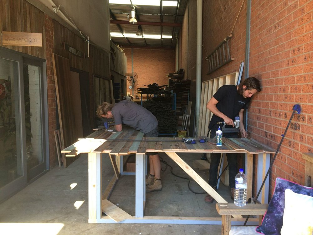 Coopers bar in production
