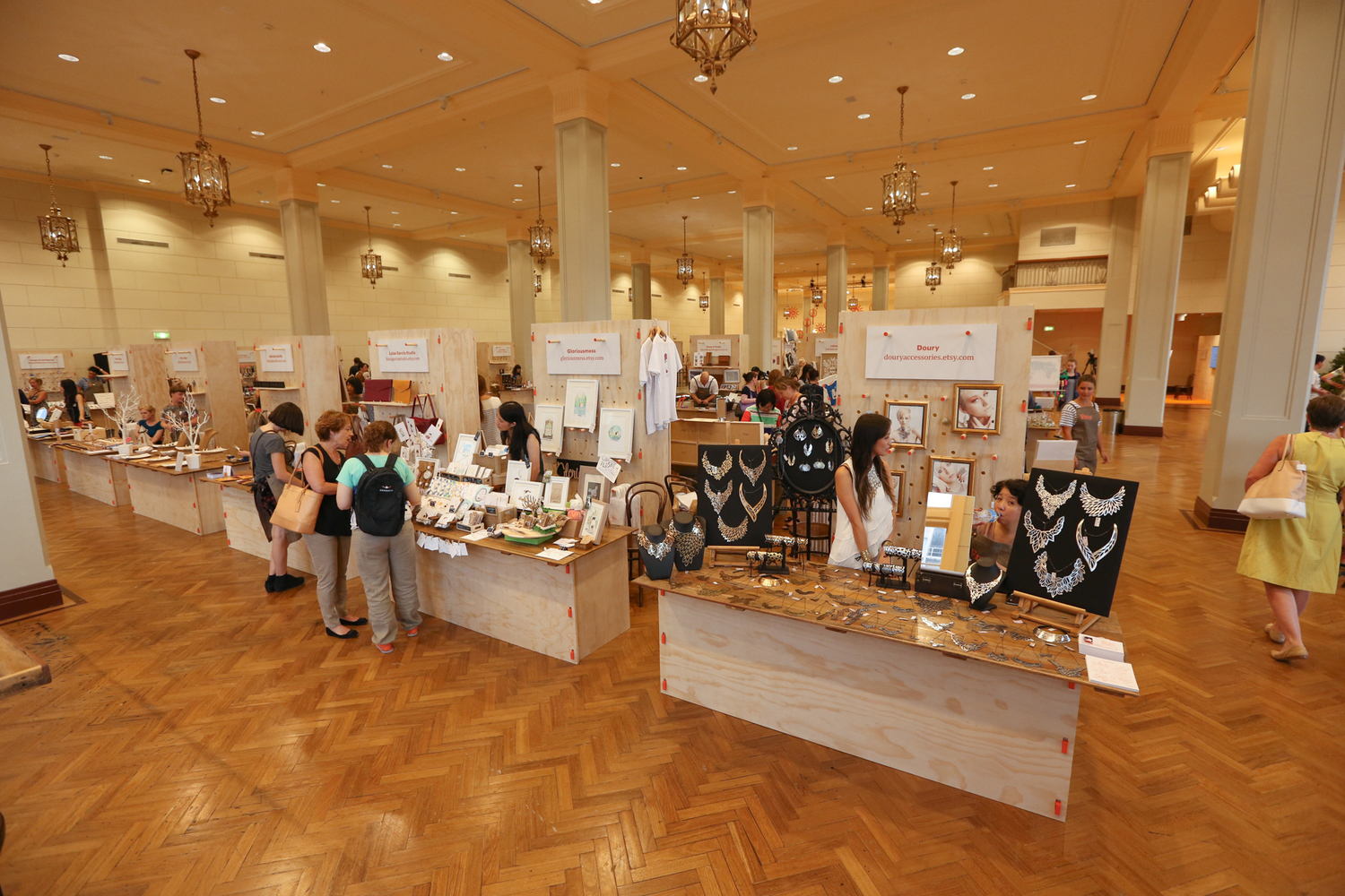 Etsy Pop Up Market - Build by Timbermill