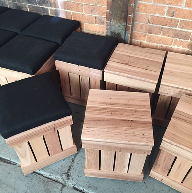Blackbutt Stools