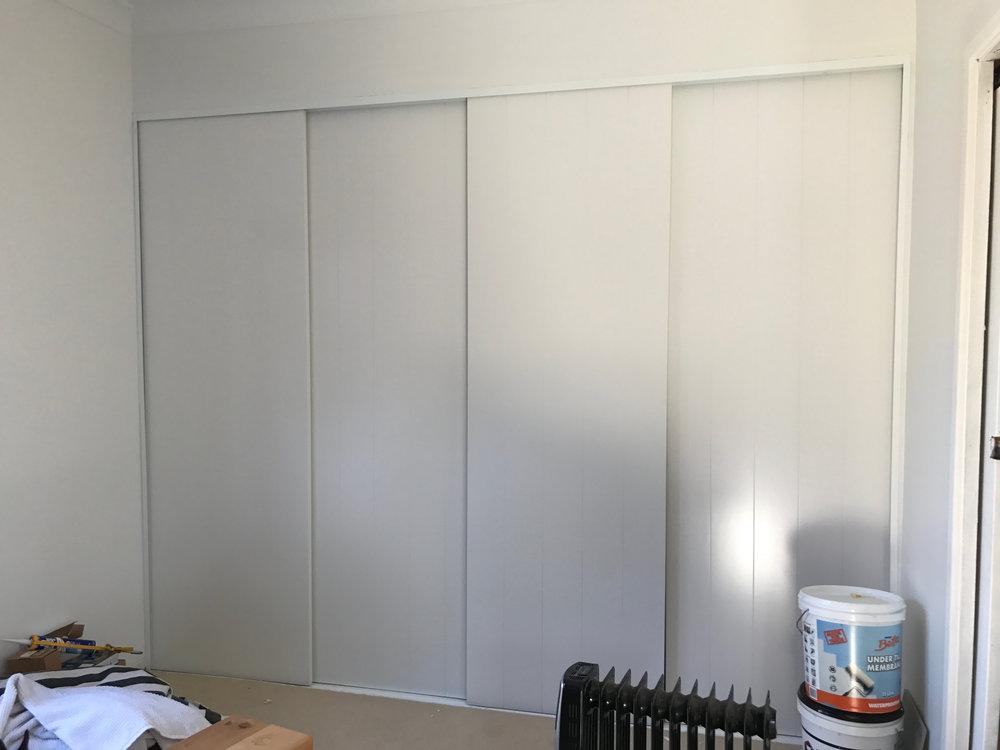 New wardrobe doors installed