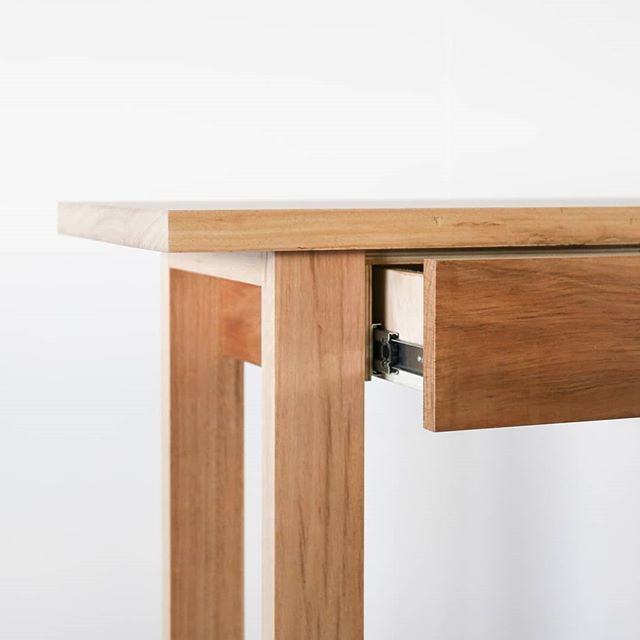 A little blackbutt hall table for Chantelle... ~ #timbermillcustom