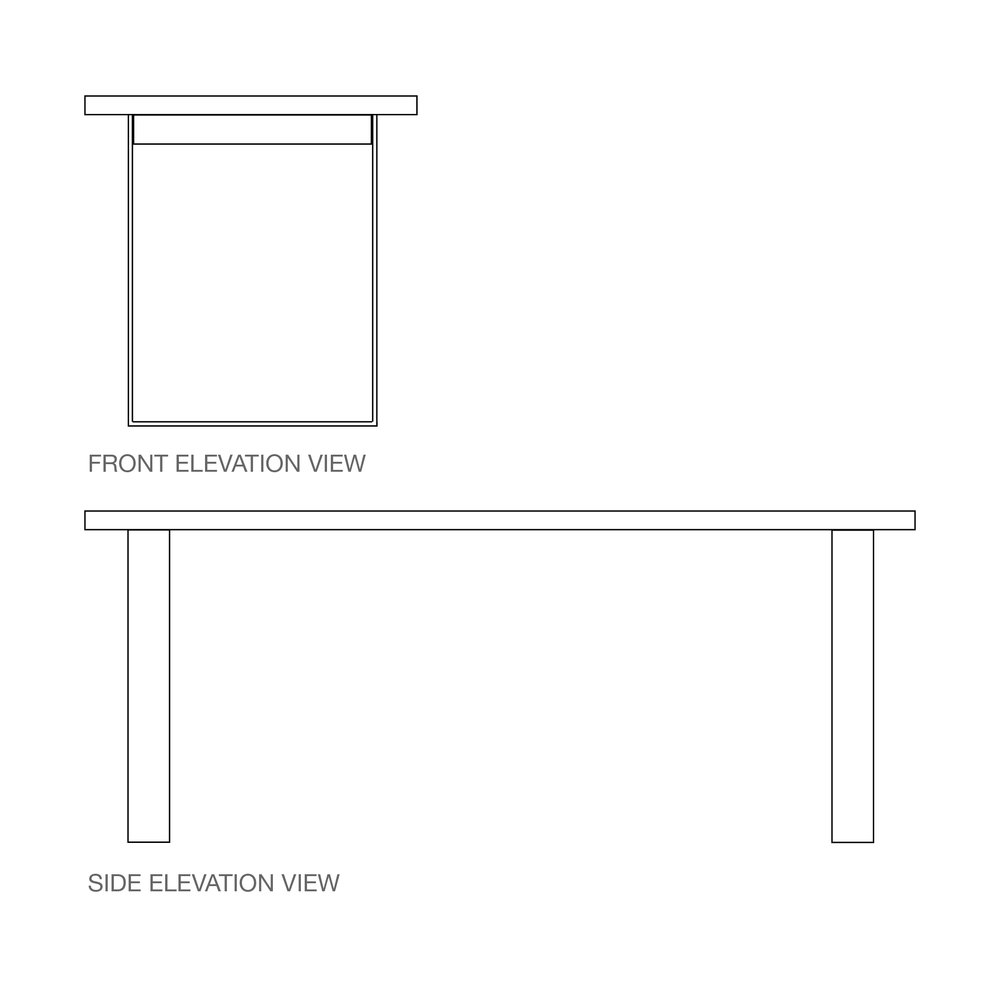 BOX Base | Either timber or steel.
