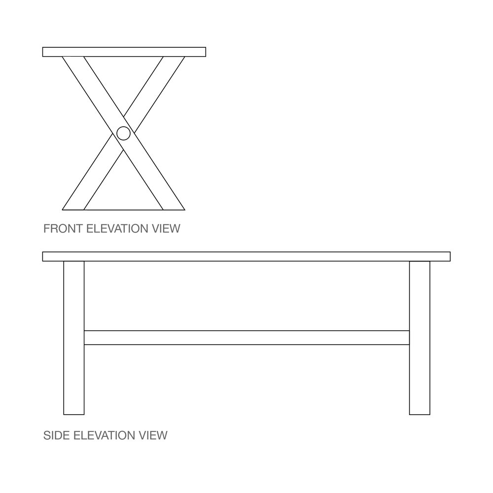 CROSS Base | Either timber or steel