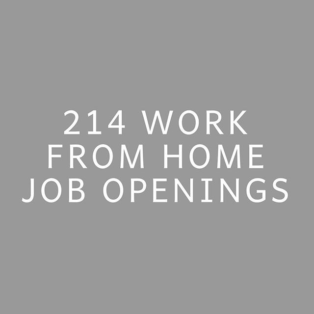IN MARCH ALONE. 214 work from home job openings were shared with the women enrolled in our course + community during the month of March! 😭🙌🏾 . 100 of those were shared with everyone enrolled, 27 were shared with gals who had previous design experience, 37 with those who've spent years in corporate marketing, 9 with those who had previous email marketing experience, 6 with those who have prior Ads experience, 8 with finance backgrounds, 16 with prior writing experience, 6 with HR backgrounds, and 5 with executive assistant experience!🤩 When women enroll in our community, I immediately have them fill out a form where they share their areas of prior experience, as well as what their goals are for picking up work from home roles! It always feels so fun to get to send job opportunities to specific people based on where their past skills and future interests are. 🙌🏾 .  I'm loving watching the gals in our community get after these roles, as many landed gigs in March too! 🎉
