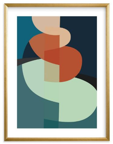 QUANTITY: 1  NAME: THE CLIMB  SIZE: 18X24  FRAME: GILDED WOOD FRAME  COLOR: NAVY OCEAN BLUE  MATERIALS: STANDARD PLEXI AND MATERIALS  BORDER: WHITE BORDER  ARTIST SIGNATURE: Optional    DISCOUNT CREDENTIALS:  Discount code: TRADEDESBYDANI
