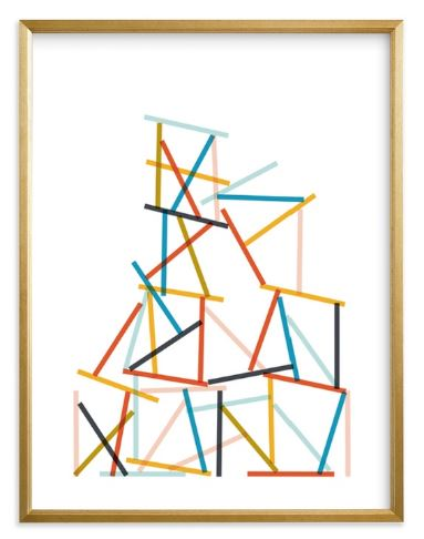 QUANTITY: 1  NAME: HARMONY IN CHAOS  SIZE: 18X24  FRAME: GILDED WOOD FRAME  MATERIALS: STANDARD PLEXI AND MATERIALS  BORDER: WHITE BORDER  ARTIST SIGNATURE: Optional    DISCOUNT CREDENTIALS:  Discount code: TRADEDESBYDANI