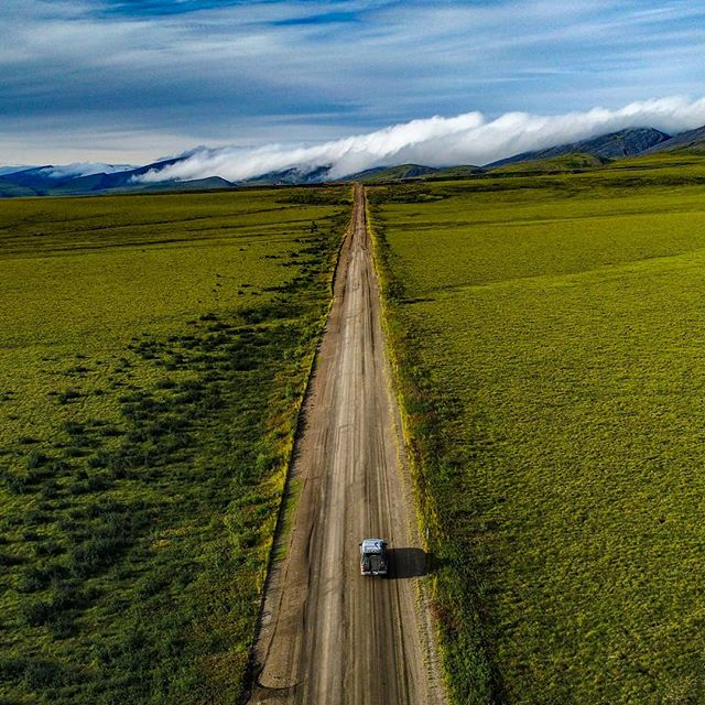 Rush hour in the Yukon  #roadtrip #adventuremobile #trucklife