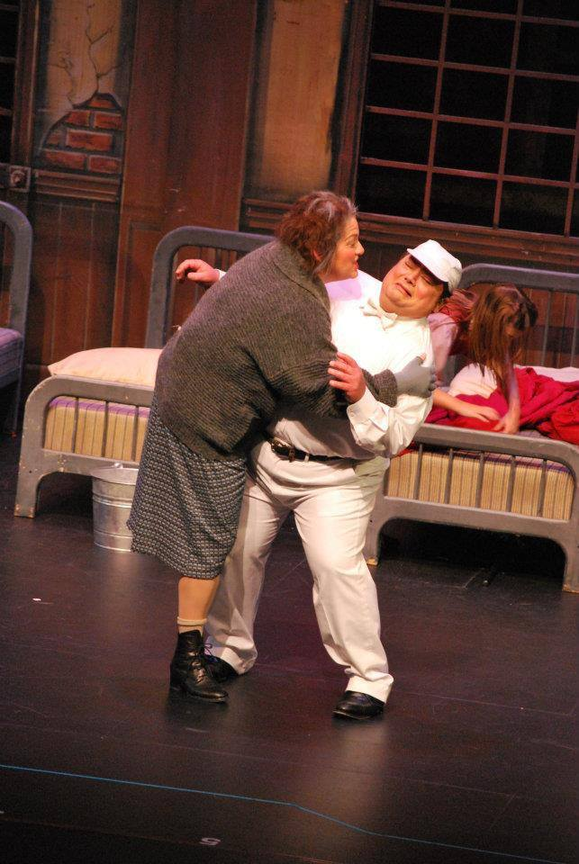 "As ""Bundles McCloskey"" in ""Annie"" at Tri Valley Repertory Theatre, 2012"