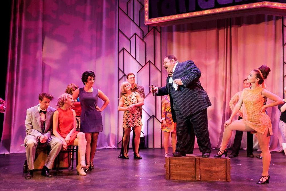 "As ""Herman"" in ""Sweet Charity"", Hillbarn Theatre, 2016"