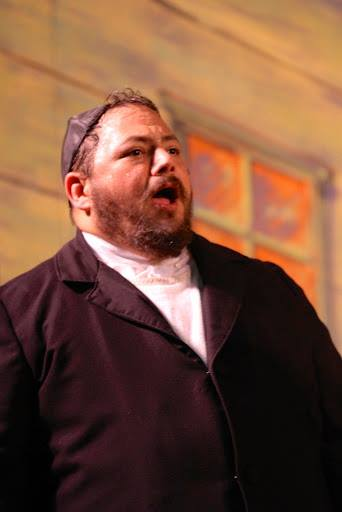 "As ""Avram"" in ""Fiddler on the Roof"" at Woodminster Summer Musicals, 2012"