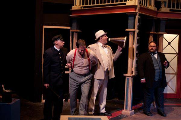 """J.P. Morgan"" in ""Ragtime"", Hillbarn Theatre, 2012"