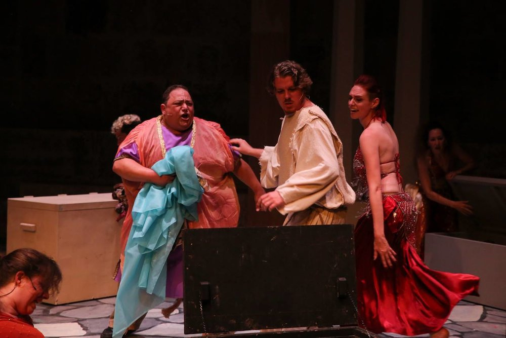 "In the Ensemble of ""Jesus Christ Superstar"" at Coastal Repertory Theatre, 2014"