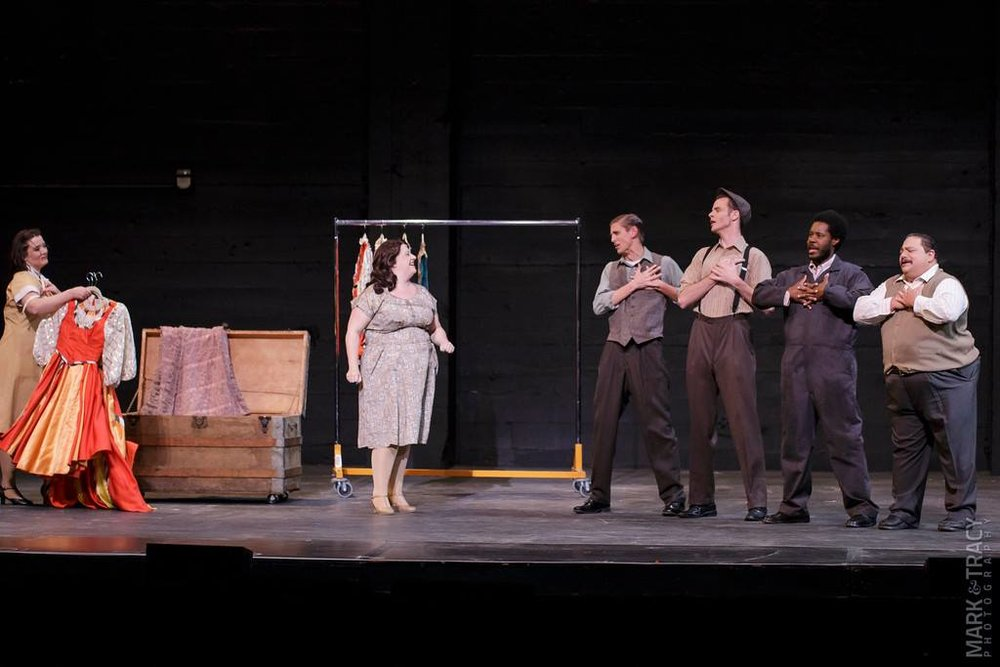 """Pops"" in ""Kiss Me, Kate"" at Broadway by the Bay, 2015"