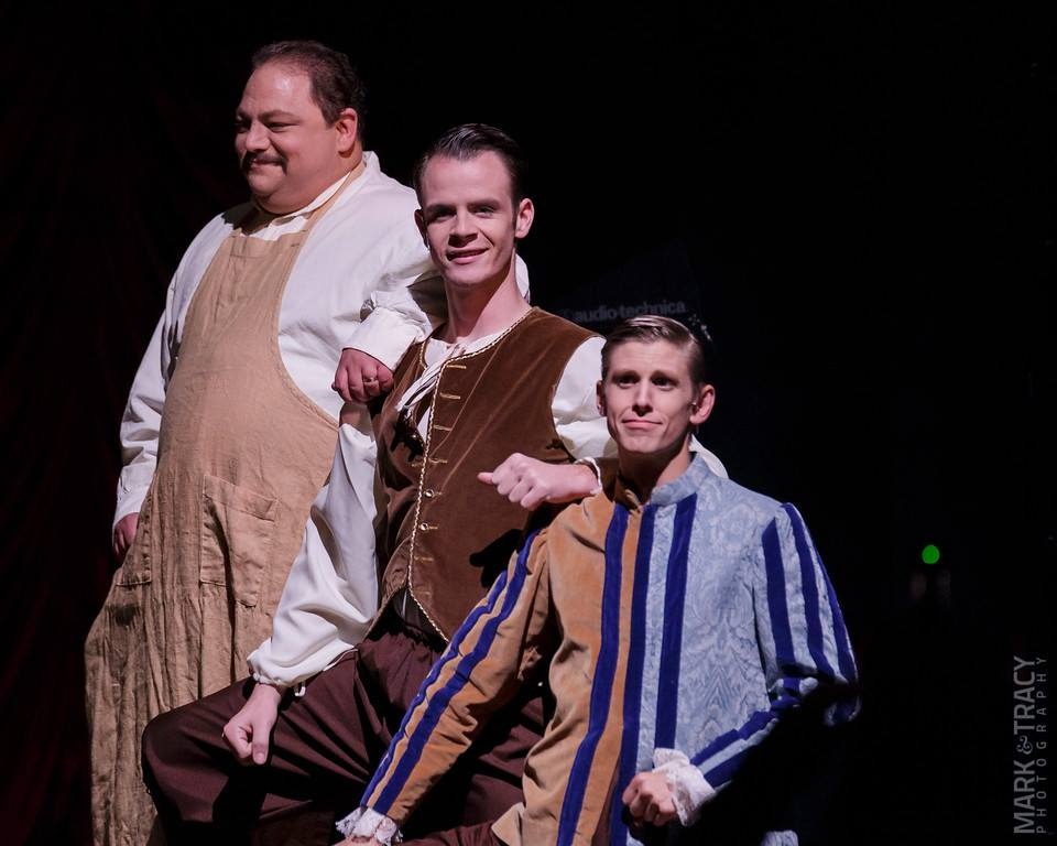 "Specialty Trio in ""Kiss Me, Kate"" at Broadway by the Bay"", 2015"