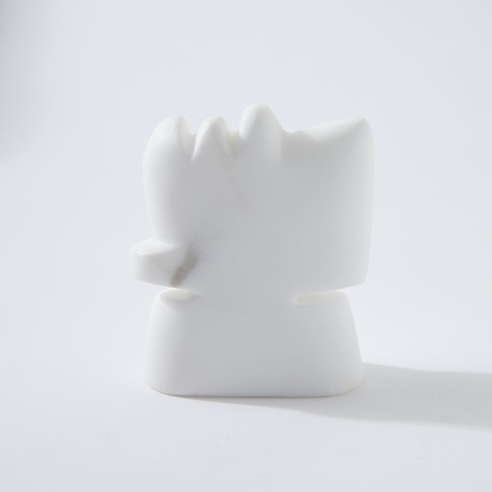 Square Form 3/3, marble, 2017