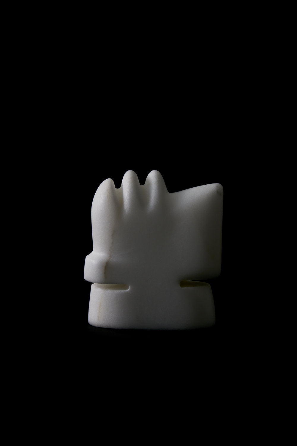 Square Form 1/3, marble, 2017