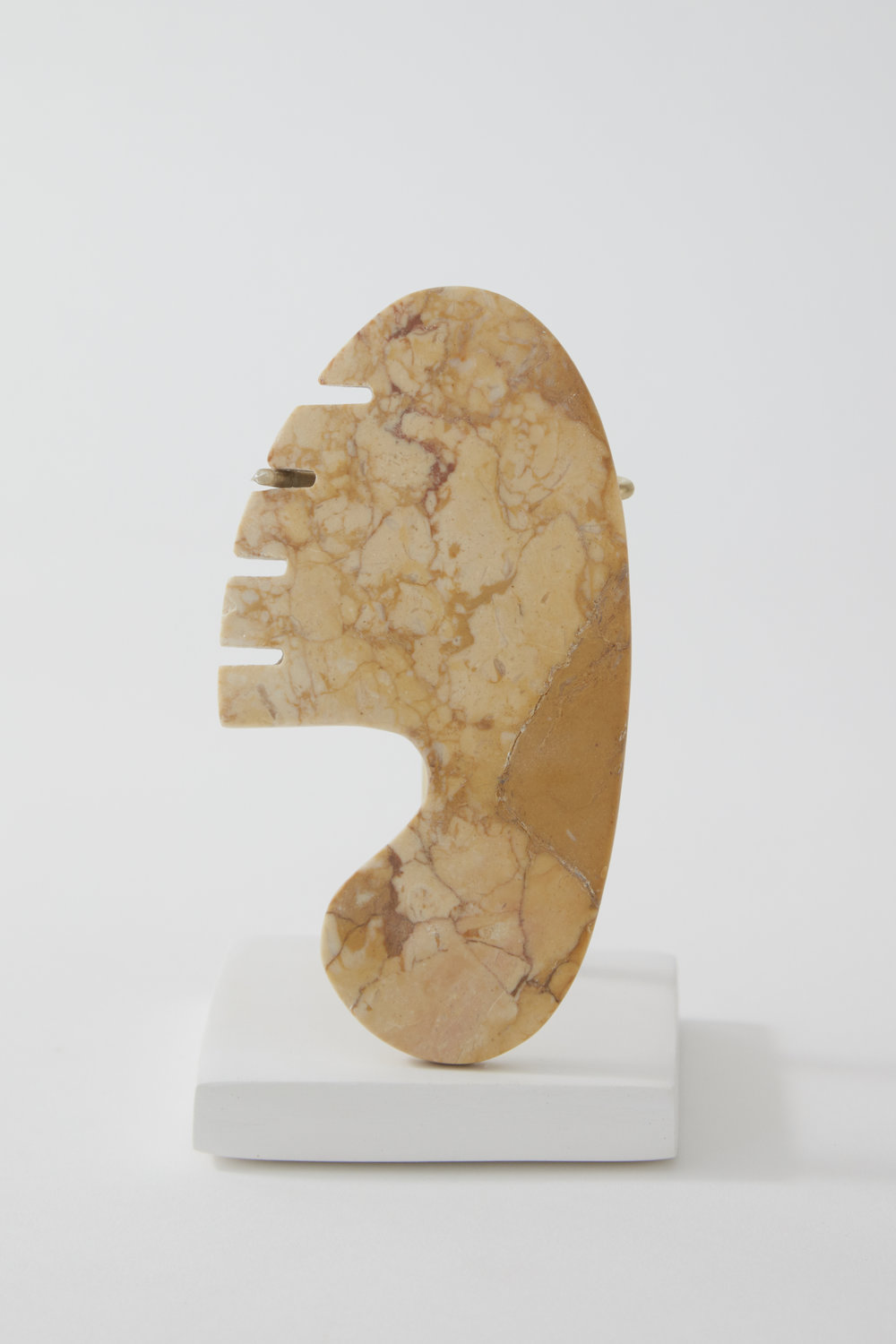 Comb #10, marble, 2017