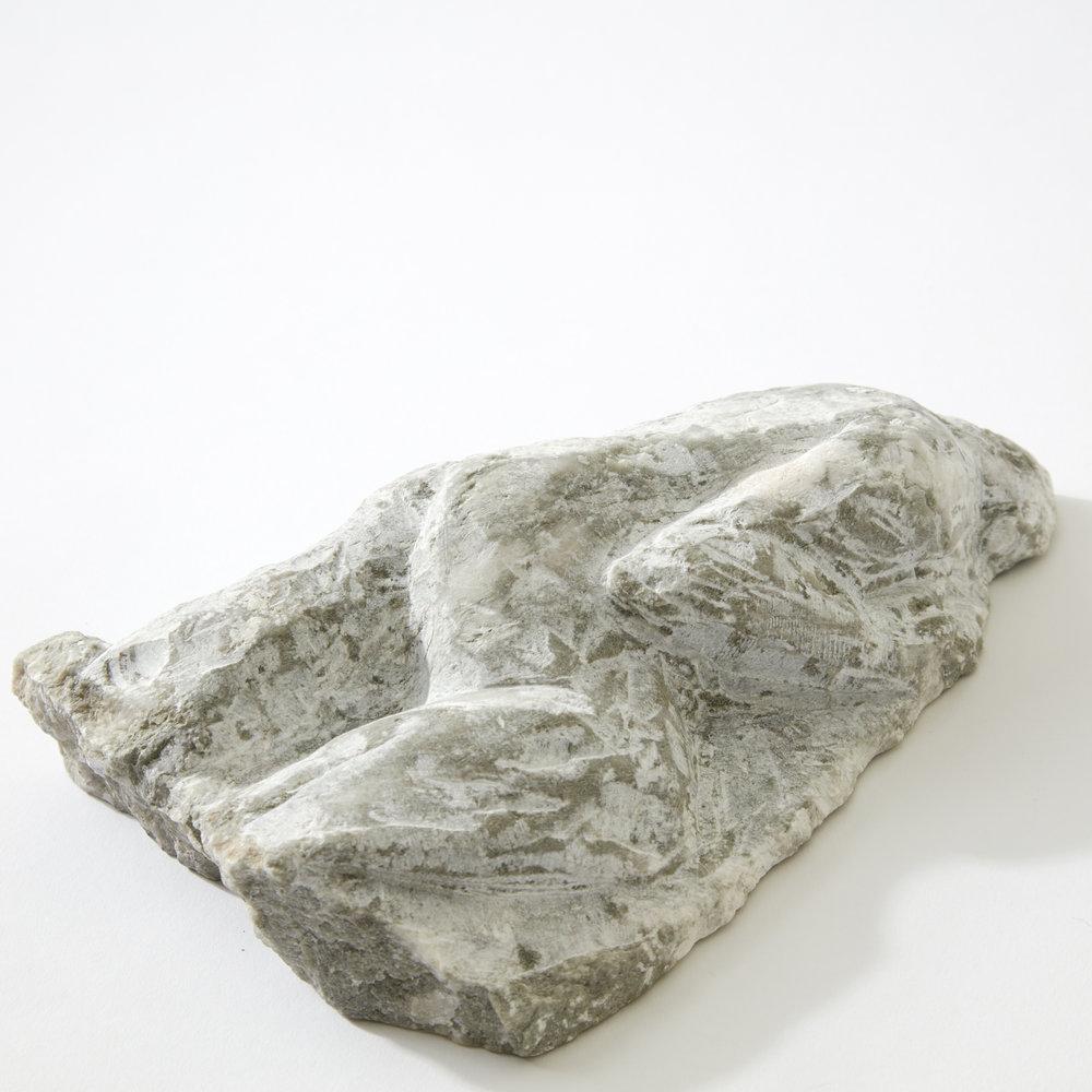 Laying Figure, alabaster, 2017