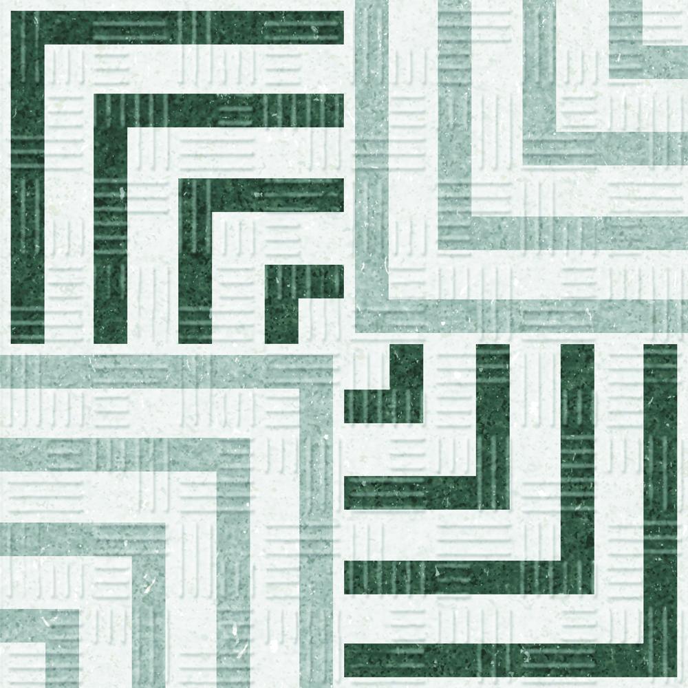 Area 15 Concentric Grey 15x15 cm  Floor & Wall Tile / Porcelain / R11/ C3