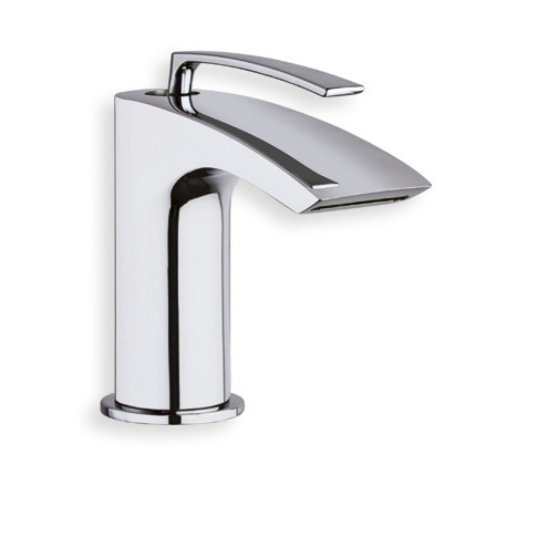 """BO 24451  Available in Chrome color. Accepts indent orders for other colors.  Basin mixer with 1""""1/4 Up&Down waste"""