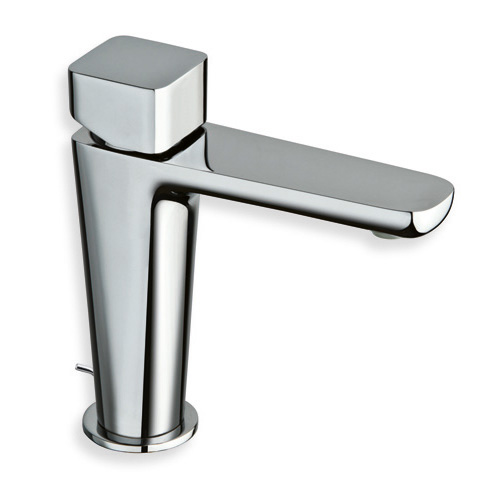 "KG 221  Available in Chrome color. Accepts indent orders for other colors.  Basin mixer with 1""1/4 pop up waste"