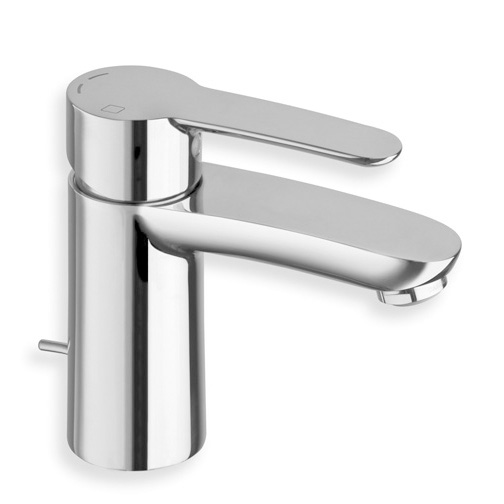 "ND 22551  Available in Chrome color. Accepts indent orders for other colors.  Basin mixer with C3 cartridge LLC ENERGY SAVING and 1""1/4 pop up waste"