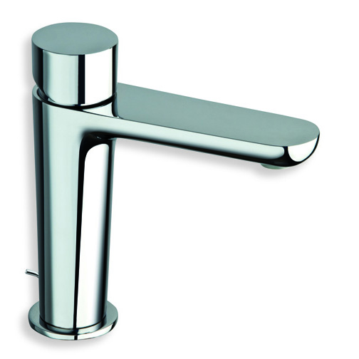 "QE 22151  Available in Chrome color. Accepts indent orders for other colors.  Basin mixer with 1""1/4 pop up waste"