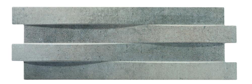 Brunswick Cement Grey 17x52 cm