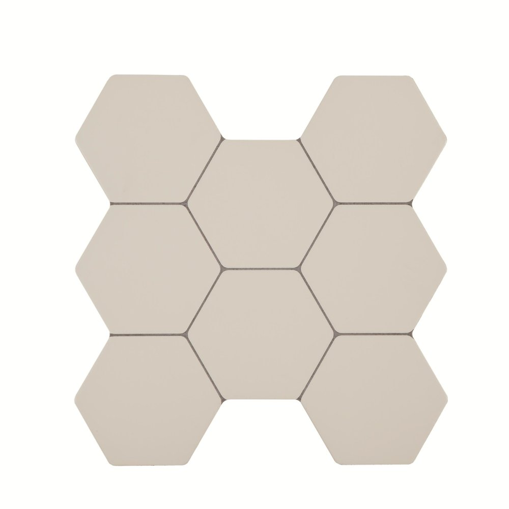 Europa H Bone 38.6x40.4 cm   Floor & Wall Tile / Red Body / Brillo
