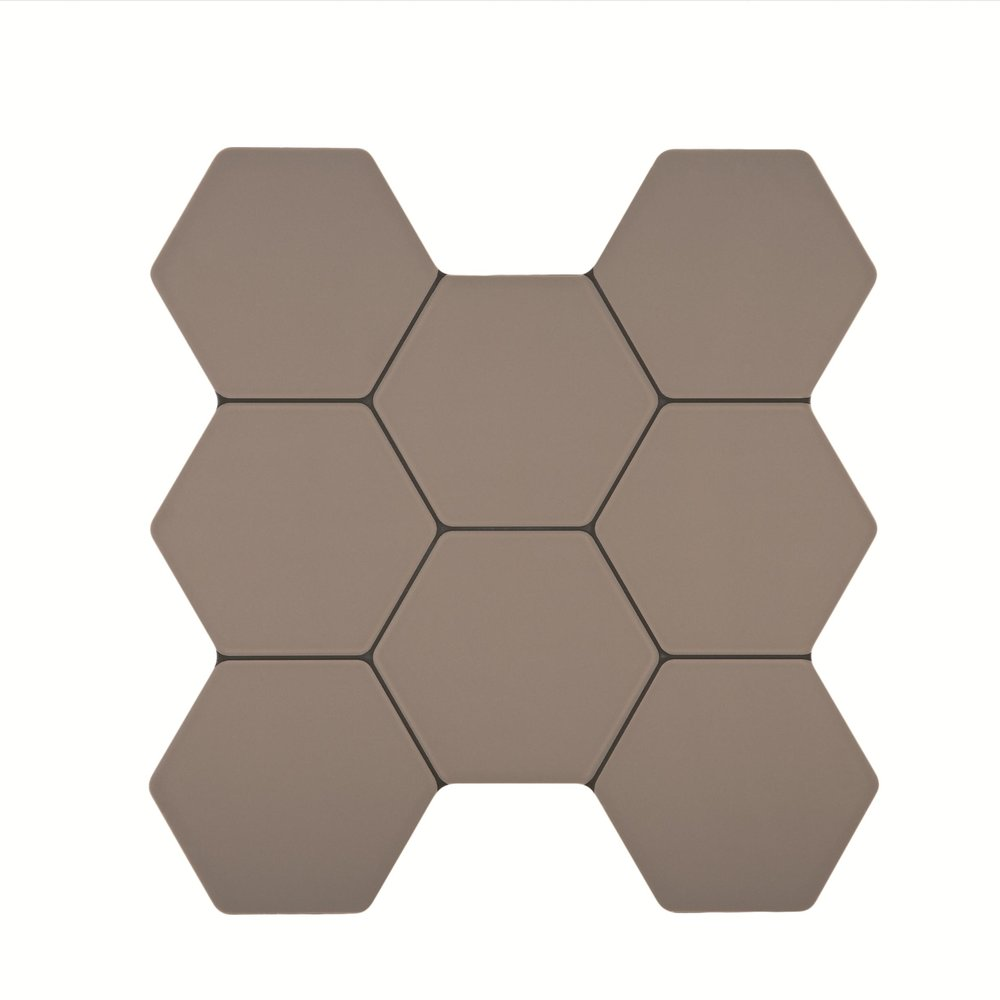 Europa H Gris 38.6x40.4 cm  Floor & Wall Tile / Red Body / Brillo