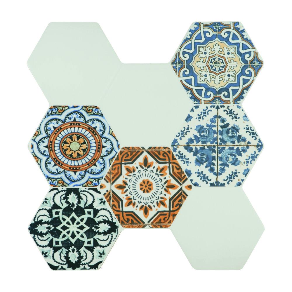 Victoria Decor Azul Mix38.6x40.4 cm (random design)