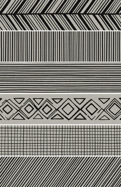 Takenos Picasso Mix Taupe 14.6x59.3 cm  Floor & Wall tile/ Porcelain / Matt/ random design