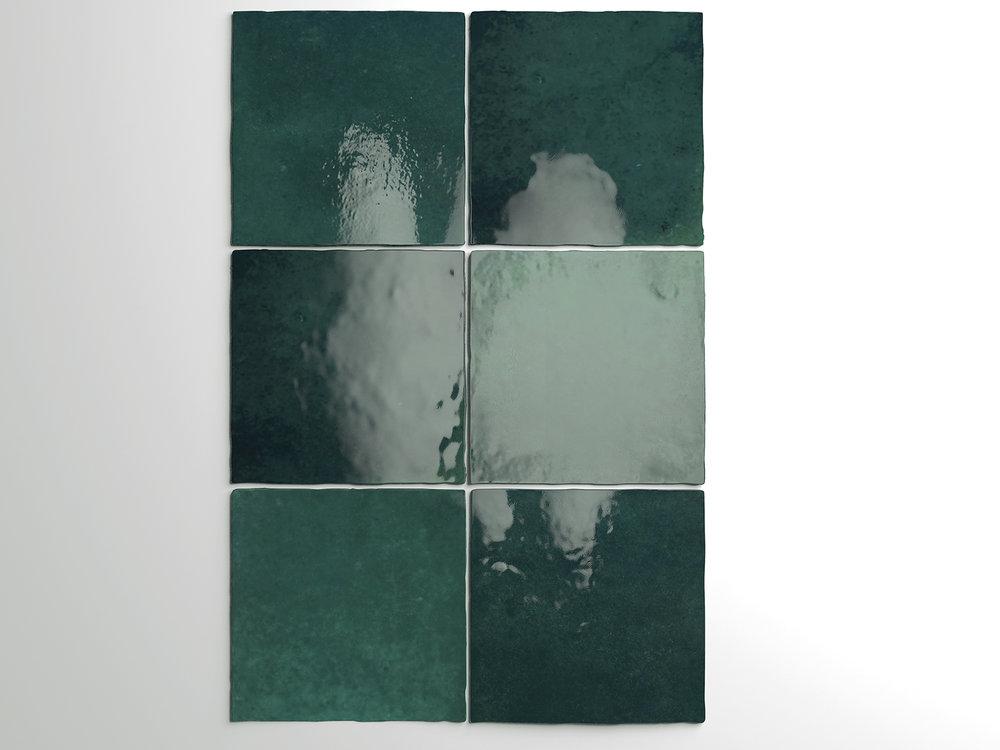 Artisan Moss Green 13.2x13.2 cm