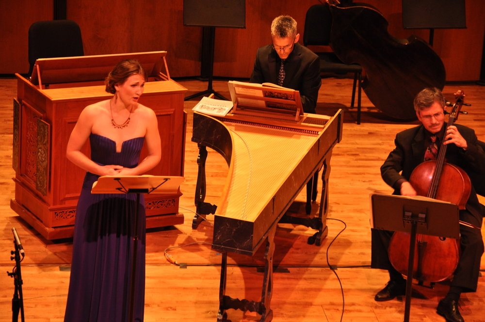 Arts and Culture Texas reviews Ars Lyrica - The bulk of the concert was devoted to two secular wedding cantatas by J.S. Bach, which were given scintillating readings by soprano Meghan Lindsay