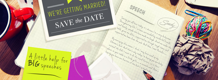 Speechy are a premium wedding speech writing service run by a team of ex-BBC scriptwriters.