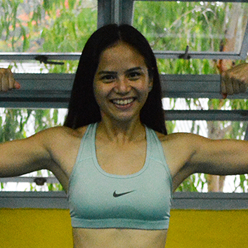 Julia Sucgang - Former Ateneo Athlete,Media-Featured CoachRunning, Track & Field, Football, Frisbee