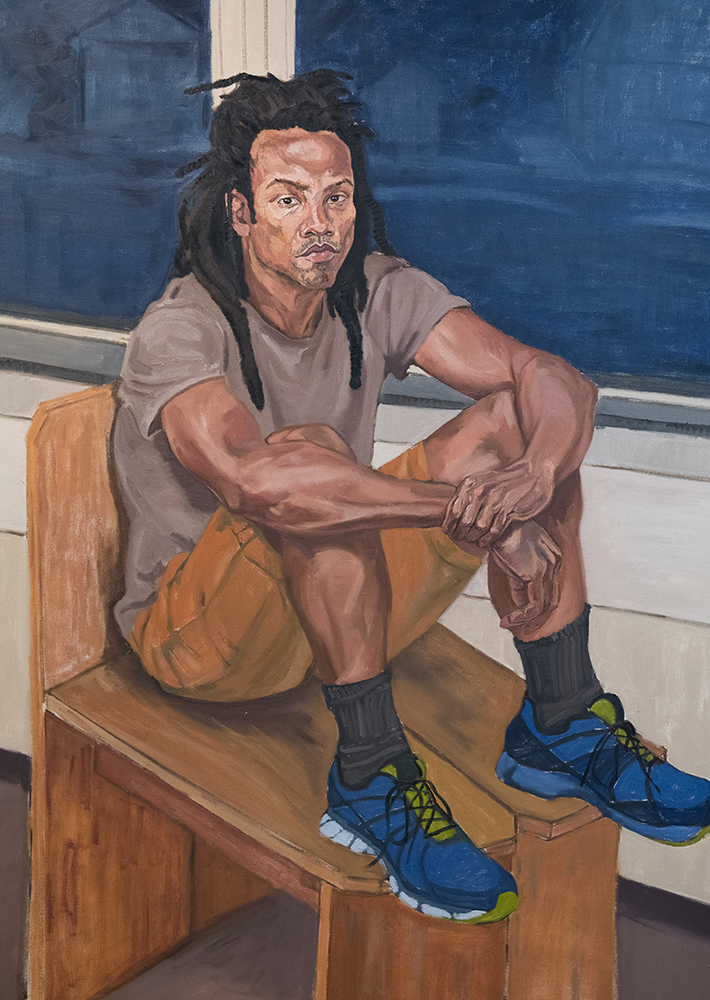 Rutland Studio August - The Portraits of Debo Mouloudji - PAINTINGS BY Debo Mouloudji ALONGSIDE ARTWORKS BY THE SUBJECTS/ARTISTS SHE PAINTEDJamaal Clacke, Christine Holzschuh, Ben Leber, Marilyn Lucey, Bill Ramage, Whitney Ramage, Oliver Schemm, and Dick Weis.