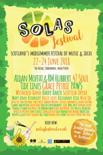 What's on When? Day by Day breakdowns are here! — Solas Festival