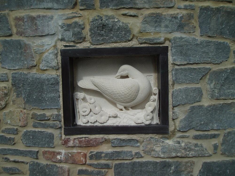 Stone carving Devon