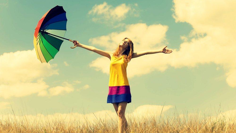 La felicità non è un'emozione passeggera, ma uno stato dell'essere,una scelta -
