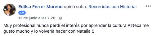 Edilsa Ferrer, 13 junio 2018