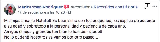 Maricarmen Rodríguez, 17 sep 2018