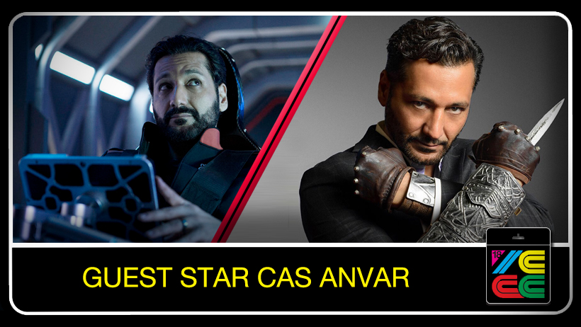 """CAS ANVAR - Cas Anvar is a multitalented award-winning actor, he was the legendary Assassin Altair from Assassins Creed Revelations as well as his roles in Call Of Duty:BO2, Halo4, Command & Conquer and Star Wars Clone Wars. The SyFy network has cast Anvar as leads in two exciting NEW series:""""Olympus"""", an action-packed mythological drama, and """"The Expanse"""", a futuristic thriller!An avid nerd, geek, gamer, sci-fi and comic book enthusiast.Anvar's big break came with his role in the film 'Shattered Glass', 'Argo', 'Diana', 'Source Code', 'The Factory'. 'The Terminal' 'Miss India America' and the upcoming horror thriller 'The Vatican Tapes'! Anvar has also appeared on"""