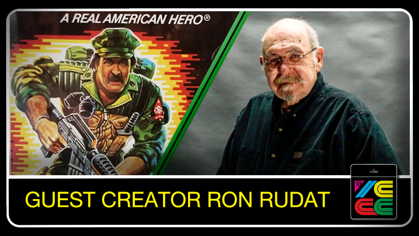"""Ron Rudat - Ron joined Hasboro in 1980, and the top secret relaunch code-named """"Operation Blast Off"""" was underway. After significant market research it was determined that G.I. Joe's best chance at profitability was to be scaled down to 3 3/4 inches. Ron was charged with designing the new smaller figures.Ron designed EVERY SINGLE figure from the inception of A Real American Hero 1982 through 1986, even though to this day he'll tell you he"""