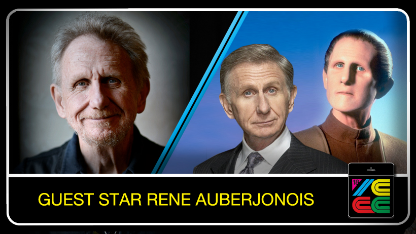 René Auberjonois - Rene Auberjonois' career is extensive. His numerous TV series roles in BENSON as Clayton Endicott III, security chief Odo on STAR TREK: DEEP SPACE NINE. In 1968, he made his NYC stage debut as the Fool in King Lear and within two years had won a Tony Award supporting Katharine Hepburn in the musical COCO.On the big screen, Auberjonois debuted in Robert Rossen's Lilith before joining Altman in a series of films that has included M*A*S*H, MCCABE & MRS. MILLER, THE PLAYER, THE HINDENBURG, POLICE ACADAMY 5, Dr. Burton in BATMAN FOREVER, and as Prof. Artemus Bradford in the live-action feature INSPECTOR GADGET, The Reverend Oliver in THE PATRIOT opposite Mel Gibson. He returned to series television on David E. Kelley's law drama BOSTON LEGAL as Paul Lewiston.He is also a specialist in voice work for animation, starting with the voice of the evil Dr. Braxis in CHALLENGE OF THE GO-BOTS, and the French cook Louis in Disney's THE LITTLE MERMAID!